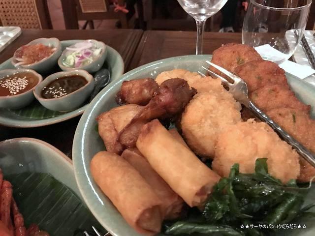 Baan Khanitha バーンカニタ  バンコク タイ料理 前菜盛