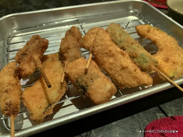 kushikatsu 串カツ 食べ放題 飲み放題 バンコク (11)