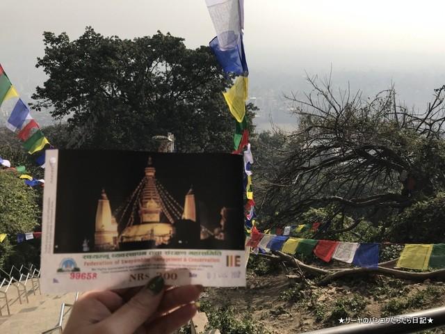 カスワヤンブナート仏塔 カトマンズ 世界遺産 (9)