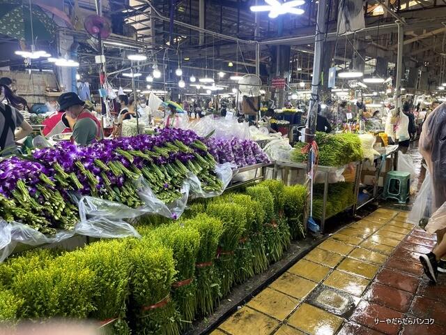 パーク クローン花市場 バンコク flower market (9)