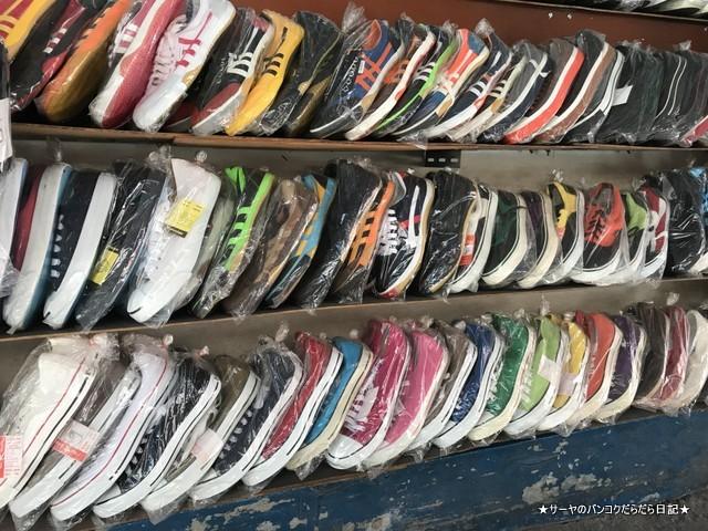 プラカノン市場 バンコク 激安 靴 スニーカー (1)
