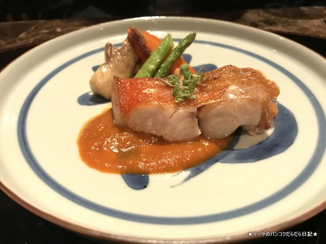 Bangkok Okura Yamazato 高級 和食 バンコク (12)