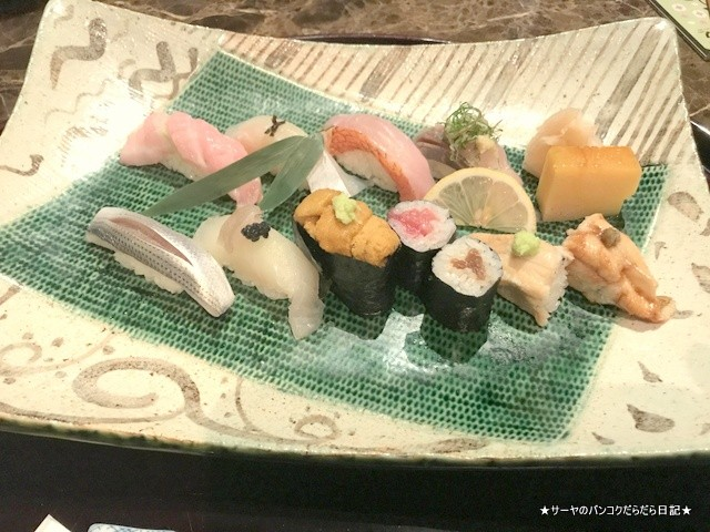 Bangkok Okura Yamazato 高級 和食 バンコク (15)