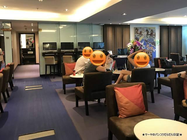 hai airways lounge 国内線 スワナプーム タイ航空