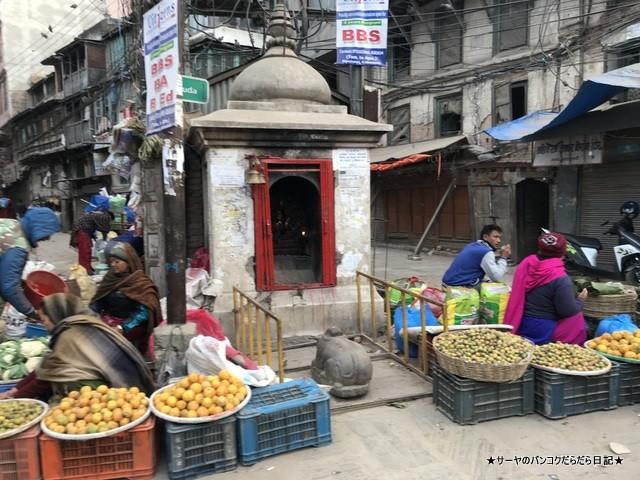 インドラチョーク アサンチョーク 朝市 ネパール カトマンズ (2)