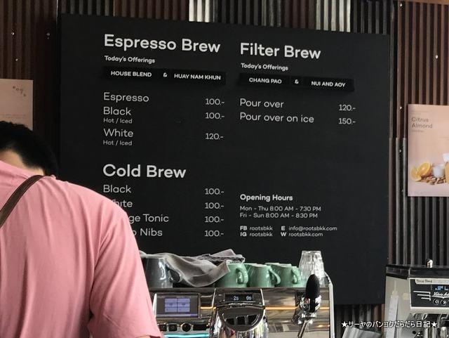 rootscoffee bangkokルーツコーヒー タイコーヒー カフェ (2)