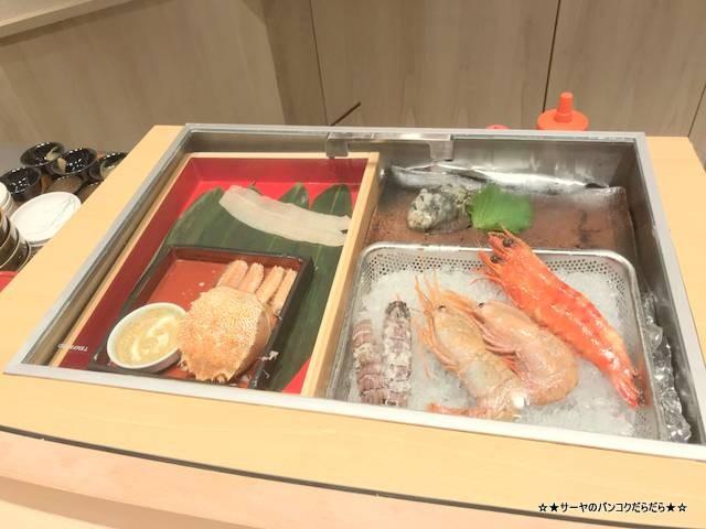 masazushi thai takashimaya bangkok table 寿司 バンコク