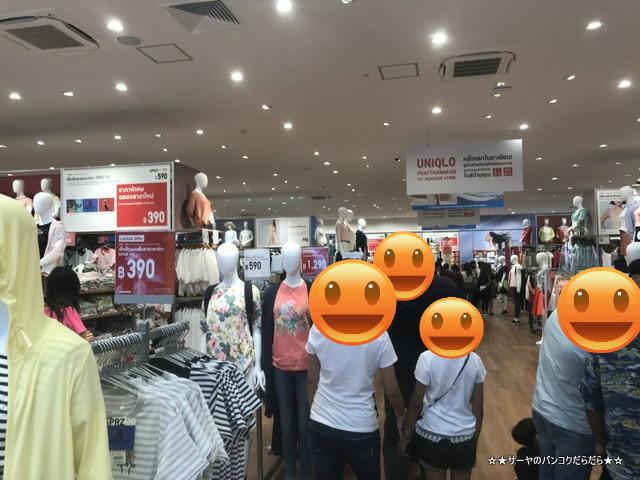 UNIQLO Phatthanakan ユニクロ バンコク 路面店1号店 店内