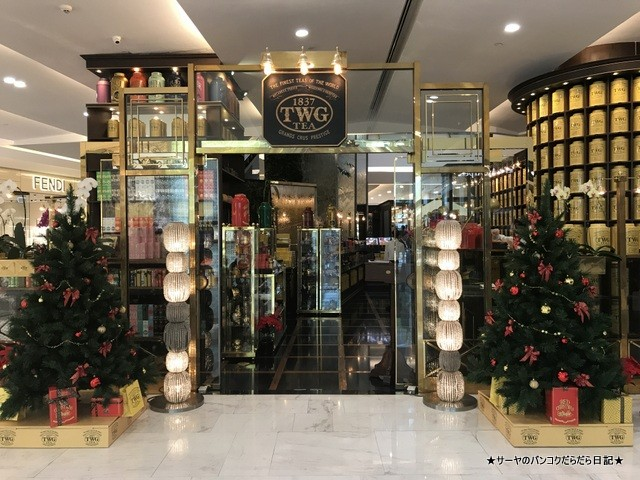 TWG Empolium 紅茶 専門店 タイ土産 (14)