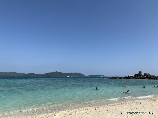 カイ島 プーケット 綺麗 ビーチ タイ 女子旅 (1)