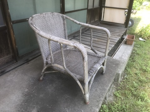 20190610(月)梧竹愛用の籐椅子