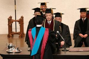 2016年度早稲田大学受領者代表学位記授与式