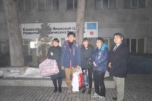 Kazakhstan Study Tour 2017 Vol.8:Kazkhtan-Japan Center訪問
