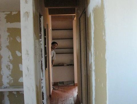施主施工~セルフビルド体験④壁塗り (自宅)