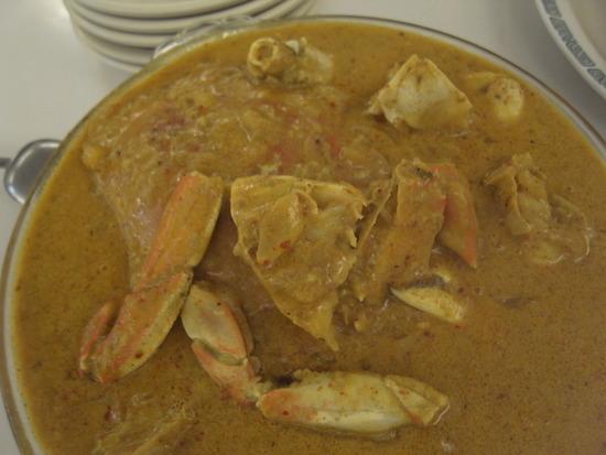 美蘭蟹カレー