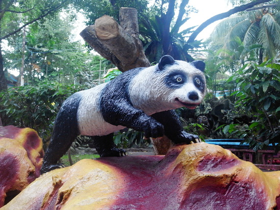 ハウパーヴィラ 例のパンダ