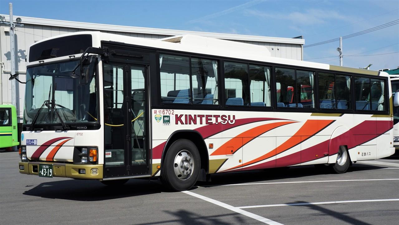 近鉄バス 6702 : おぐら山荘