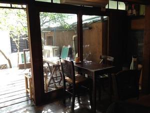 Cafe&bar 楽 さんで営業初日!ドキドキ