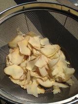 乾燥生姜作りました