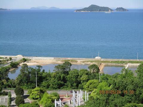 5月24日ハイツから瀬戸内海