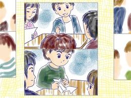 コマ漫画(2)