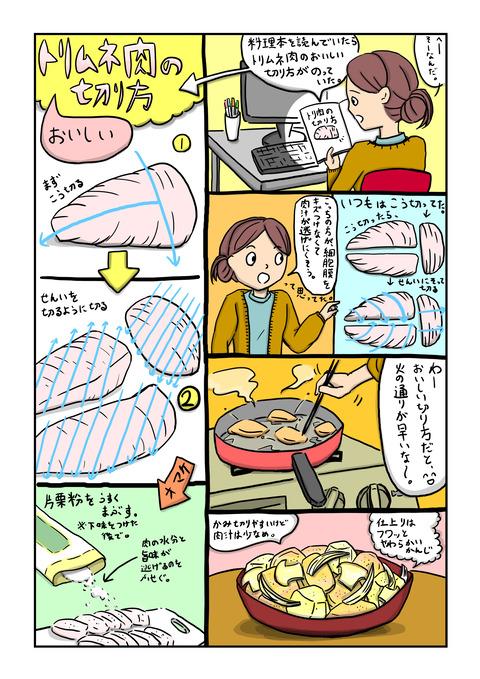 鶏のピリ辛マヨ3