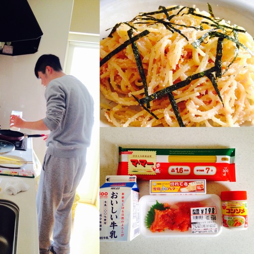 Cod's-roe pasta