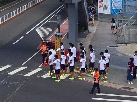 台湾で日本人学生