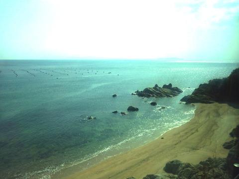 洲本への海岸線