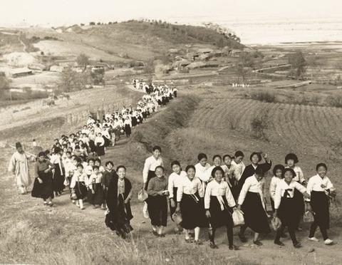 1930~40年代、平安道の情景