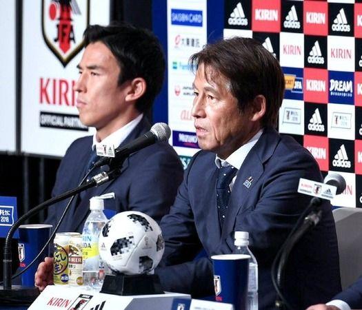 W杯後の日本代表www