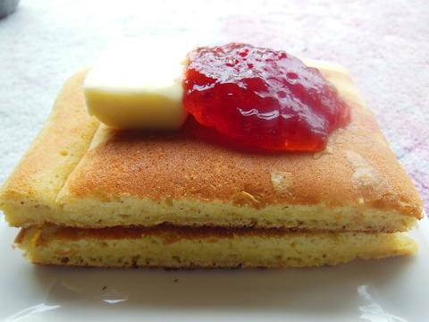 糖質ホットケーキ