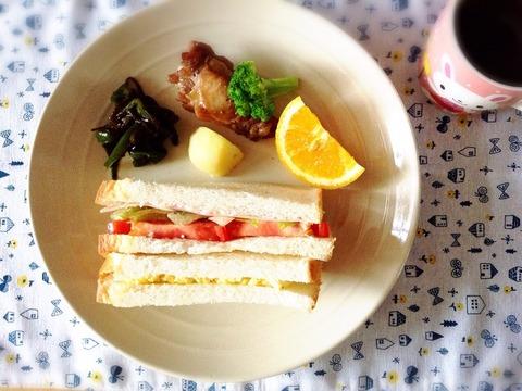 【アレンジ】酢玉ねぎ→玉子サンド→チキン南蛮