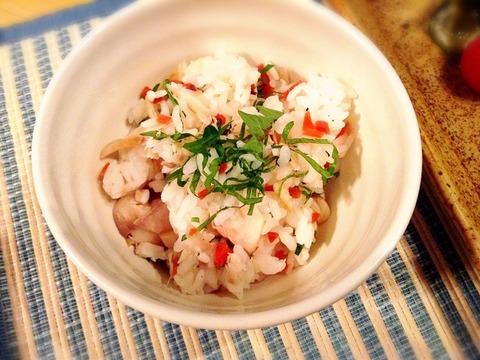 【簡単レシピ】ホッケの混ぜご飯