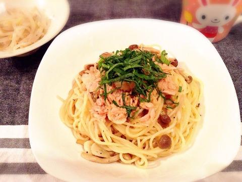 【簡単レシピ】ツナと大根おろしの和風ペペロンチーノパスタ