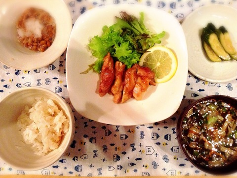 【簡単レシピ】鶏の照り焼き