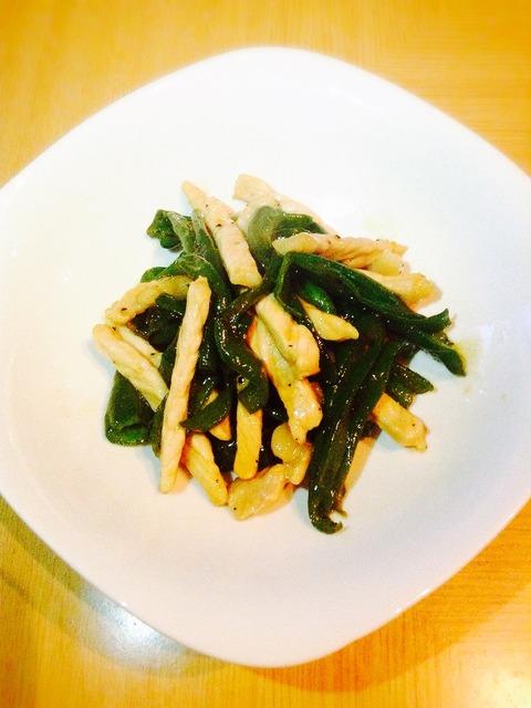 【簡単レシピ】豚肉とピーマンの砂糖醤油+胡椒炒め