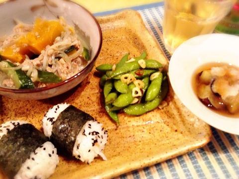 【簡単レシピ】枝豆のペペロンチーノ