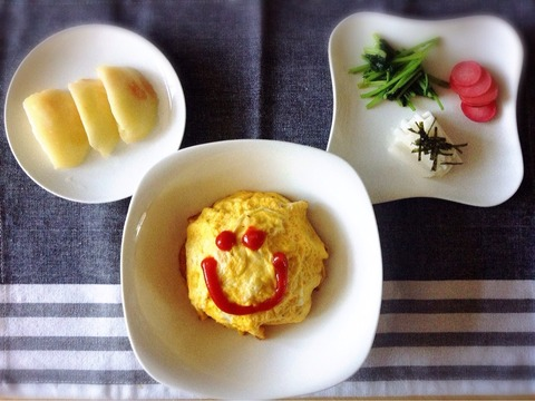 【簡単】ラディッシュの甘酢漬けと葉のバタポン炒め