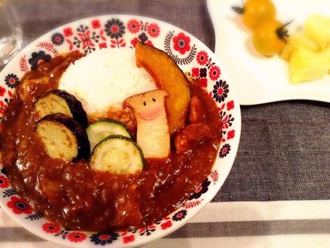 【簡単レシピ】夏野菜カレー