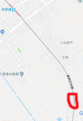 撮影地 南栗橋