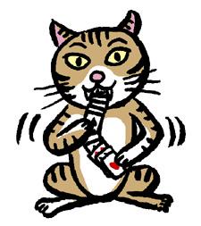 トランプ猫 のコピー