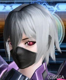 この黒マスクを使いたい!!と調べていたら、女キャスト専用だそうな・・・ アクセサリーとして追加してほしい・゜・(PД`q。)・゜・ これにワイルドマフラーつけて