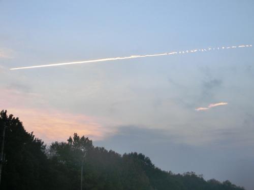 飛行機雲1202