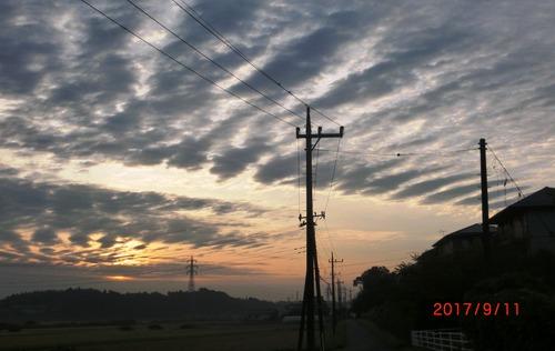 朝の雲3016