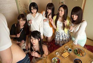 同窓会でヒトヅマの同級生たちと王様GAMEで悪イケイケ、お乳・パンティ・クパァ・フェラチオ・テコキ・ナカ出しsex