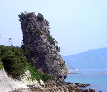 立岩(周防大島)