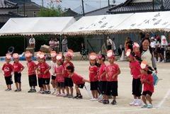 城山小学校運動会