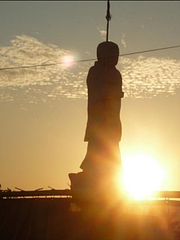 小松港の夕暮れ