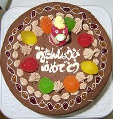 ながや菓子工房のバースディケーキ